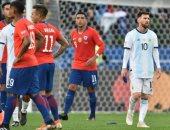 """شاهد.. ملخص وأهداف مباراة الأرجنتين ضد تشيلي فى """"كوبا أمريكا"""""""