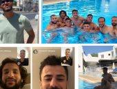 سباحة وكاجوال ومكالمة فيديو.. أبرز مشاهد معسكر الزمالك فى قبرص