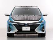 شركة يابانية تخطط لوضع خلايا شمسية بخلفية السيارات الكهربائية لشحن بطاريتها