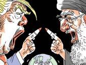 صحيفة أرجنتينية تنشر كاريكاتير عن التوتر المتصاعد بين إيران وأمريكا