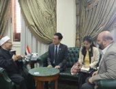 سفير تايلاند للمفتى: دار الافتاء أحد أعمدة الفتوى فى العالم
