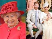 اعرف سبب اختفاء الملكة إليزابيث الثانية في حفل تعميد ابن الأمير هاري