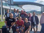 صور.. 10 طلاب بجامعة أسيوط فى زيارة ثقافية وتعليمية بروسيا