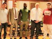 المقاصة يتعاقد مع النيجيري موسيس مهاجم الحدود 4 سنوات