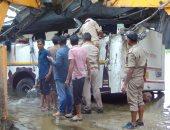 صور.. مصرع 29 شخصا وإصابة 17 آخرين فى سقوط حافلة ركاب بالهند
