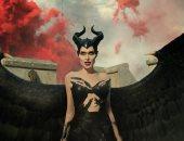 فيديو وصور.. ديزنى تطرح كواليس تحضيرات أنجلينا جولى لشخصية Maleficent