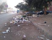 شكوى من تراكم القمامة بمدينة القضاه بالحى الثامن فى مدينة نصر