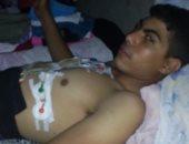 صور.. مأساة شاب يحتاج إلى عملية قلب مفتوح.. ووالدة يناشد الصحة بعلاجه