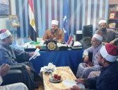 وكيل أوقاف السويس يكلف بمنع غير المصرح لهم من المنابر والدروس داخل المساجد(صور)