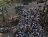 تراكم القمامة فى شارع عبد السلام إسماعيل بالطالبية فيصل