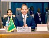 نص كلمة السيسى بالقمة التنسيقية بين الاتحاد الأفريقى والتجمعات الإقليمية