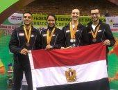مصر تحصد 4 ميداليات ببطولة كوت ديفوار الدولية للريشة الطائرة