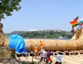 فيديو.. مغامرون بلغاريون يستعدون للإبحار إلى مصر على متن قارب من الخوص