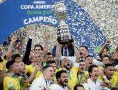 كل أهداف الأحد.. البرازيل بطل كوبا أمريكا وثلاثية الجزائر ومفاجأة مدغشقر