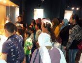 شاهد.. مشاركة الأطفال فى ورش النشاط الصيفى بمتحف ملوى