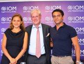 المنظمة الدولية للهجرة تنصب آسر ياسين ونيللى كريم سفراء للنوايا الحسنة