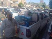 صور.. تحرير 231 محضر إشغالات ومرافق فى 5 مراكز بسوهاج
