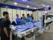 """صور..""""صحة الشرقية"""": تشغيل قسطرة القلب بمستشفى الزقازيق العام بـ 15 مليون جنيه"""