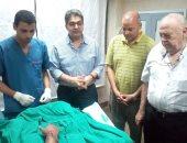 صور .. فريق طبى بالمستشفى الجامعى بطنطا ينجح فى إعادة نصف ذراع مبتور لطفل