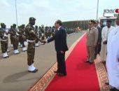 فيديو.. مغادرة الرئيس السيسي للنيجر بعد ترأسه القمة الأفريقية الاستثنائية
