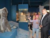 محافظ الغربية يتفقد اعمال تطوير متحف اثار طنطا بتكلفة 18مليون جنيه