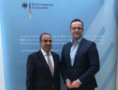 السفير المصرى فى برلين يبحث مع وزير الصحة الألمانى التعاون بمجال الصحة