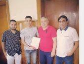 غزل المحلة يتعاقد مع محمد حمدان لمدة 3 سنوات