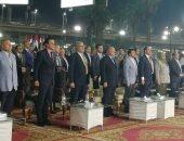بدء حفل محافظة القاهرة بالعيد القومى بمركز شباب الجزيرة