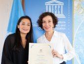 اليونسكو تختار لاعبة كرة قدم من أصل أفغانى للترويج لتعليم الفتيات