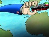 كاريكاتير الصحف الإماراتية .. ترامب يمسك بقبضة يده بناقلات النفط العراقية