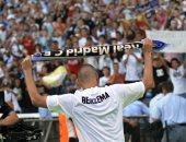 بنزيما يحتفل بمرور 10 أعوام على انضمامه إلى ريال مدريد.. فيديو وصور