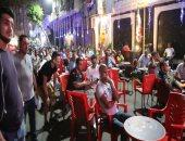 خرج اللاعبون وبقى الجمهور.. المصريون يواصلون الاستمتاع ببطولة إفريقيا