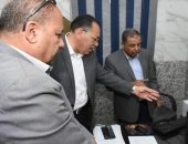 صور.. بدء التشغيل التجريبى للمركز التكنولوجى لخدمة المواطنين بمدينة ههيا
