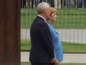 شاهد.. المستشارة الألمانية ترتعش خلال استقبالها لرئيس وزراء فنلندا