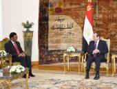 رئيس وزراء تنزانيا للسيسي: نتطلع للاستفادة من مصر لبناء عاصمة تنزانية جديدة