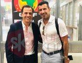 فيجو يصل القاهرة لتحليل مباريات كأس أمم أفريقيا على تايم سبورتس.. صور