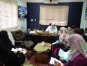 وكيل تعليم كفر الشيخ توجه بحسن استقبال الطلاب وأولياء أمورهم أثناء أعمال التقديم
