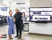 """كبير منتجى وكالة """"سبوتنيك"""" الروسية تبحث سبل التعاون مع """"اليوم السابع"""""""