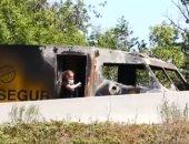 متفجرات ونار وقطع طريق.. عملية فاشلة لسرقة شاحنة نقل أموال فى فرنسا