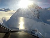 الشرطة الإيطالية تنشر فيديو يوثق لحظة تحطم طائرتين فوق جبال الألب