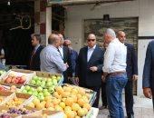 محافظ القاهرة: سوق سوهاج مراقبة بالكاميرات وتسع 126 بائعا بتكلفة 3 ملايين جنيه