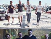 """صور.. لاعبو الأهلى يتألقون على طريقة """"ولاد رزق"""" فى معسكر إسبانيا"""