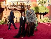 من اين انتقت بيونسيه فستانها المزين بالكريستال لحضور عرض The Lion King؟
