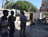 بتكلفة 5 مليون جنيه.. رئيس مركز أبو قرقاص يتابع أعمال إنشاء وحدتين صحيتين