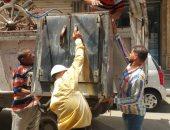 حملات لإزالة تعديات الباعة الجائلين شرق الإسكندرية