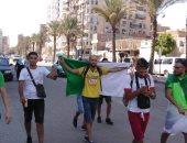 جماهير الجزائر تغزو السويس قبل مباراة كوت ديفوار بأمم أفريقيا.. صور