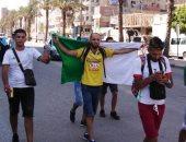 احتفالات عارمة فى شوارع الجزائر بالتأهل لنصف نهائى كأس الأمم الإفريقية