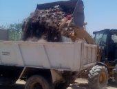 صور.. محافظة سوهاج: رفع 96 طن قمامة ومخلفات صلبة بمراكز سوهاج خلال يومين