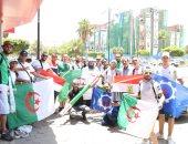السويس ترحب بالمشجعين الجزائريين قبل مواجهة كوت ديفوار اليوم.. صور