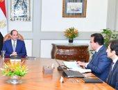 الرئيس السيسى يبحث محاور تطوير قطاع التعليم العالى والبحث العلمى
